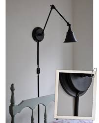 wall lamp cord concealer