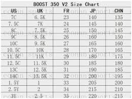 Yeezy Infant Size Chart 5k Best Picture Of Chart Anyimage Org