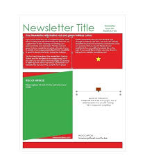 free holiday newsletter template printable newsletter template microsoft word free helenamontana info