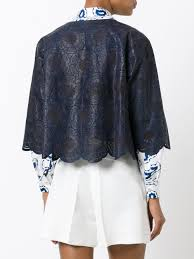 kiton cropped leather jacket midnight women clothing jackets kiton cashmere suit timeless design
