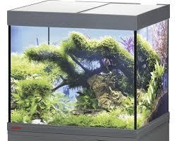 Aquarium EHEIM Vivaline 150 Mit LED Beleuchtung, Heizer, Filter Ohne  Unterschrank Anthrazit
