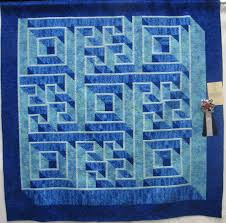 Labyrinth Quilt Pattern Free Mesmerizing Labyrinth Walk By Beth Durig Gems Of The Prarie Quilt Guild