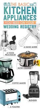 Names Of Kitchen Appliances 17 Best Ideas About Kitchen Essentials List On Pinterest Kitchen