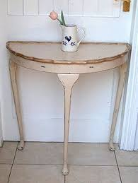 half moon table. Painted Furniture Idea Box By Cynthia H Half Moon Table
