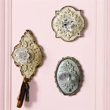 crystal door knob wall hooks