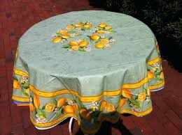 citrus oilcloth round tablecloth tablecloths