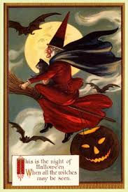 Early 1900's Vintage Halloween Cards (11) |