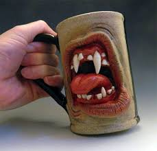 There are 220486 personalized coffee cups for sale on etsy, and they cost $17.51 on average. Grotesque Growling Coffee Mugs Custom Coffee Cups