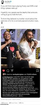 Ray fisher stadium received extensive renovations and was reopened as part of the university's. Jason Momoa Says Serious Stuff Went Down As He Backs Ray Fisher Over Claims Of Abusive Behavior Daily Mail Online