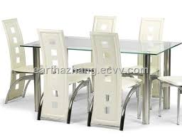 Modern furniture dining table Dining Room Modern Furniture Glass Dining Table And Chair Xydt043 Cado Modern Furniture Dining Table Catalog Xy Modern Furniture Factory Ecvvcom