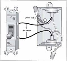 change out light switch from single switch to double switch Single Pole Light Switch Diagram download single pole switching provides switching from one location only description from hdwalls xyz light switchesbasementwire single pole light switch diagram with outlet