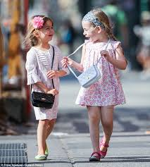 chanel kids. such a little lady! brunette tabitha (left) was oh-so-sweet chanel kids s