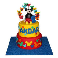 Mickey Mouse Birthday Cake Chandigarh Cakes Delivery Home