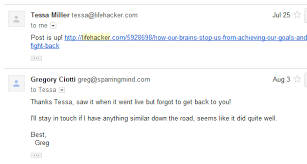 Email Me How To Email Busy People