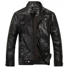hugme fashion high quality leather biker motorcycle jacket for men jk5