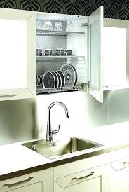 wall mount dish drainer over the sink dish rack hanging dish drying rack over the sink
