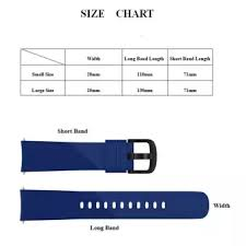 Watch Band Width Size Chart Nicetoempty Compatible Gear Sport Band Replacement Soft Silicone Watch Band Strap Compatible For Samsung Gear Sport Gear S2 Classic Huawei Watch 2 9