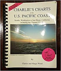 Charlies Charts Of The U S Pacific Coast Seattle Wa To