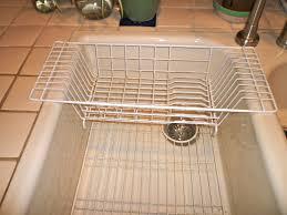over sink drainer rack ideas