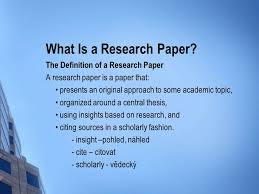 writing a great research paper picking an a topic ppt  3 what