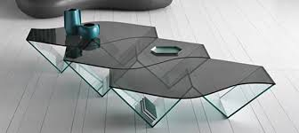modern glass furniture. simple glass pulse by karim rashid for tonelli and modern glass furniture