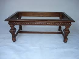 unf sp 602 hand carved coffee table as is for stone top 400