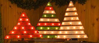 Christmas tree lighting ideas Design Diy Christmas Trees With Marquee Lights Diy Christmas Trees With Marquee Lights Little Craft In Your Day Outdoor Christmas Light Ideas Little Craft In Your Day