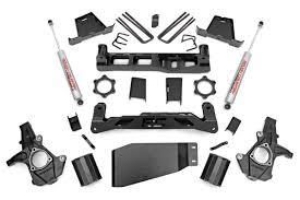 7.5-inch Suspension Lift Kit for 2007-2013 4WD Chevrolet Silverado ...
