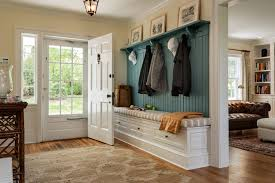 Built In Coat Rack Delectable EntrywaybenchandcoatrackEntryTraditionalwithbenchcushion
