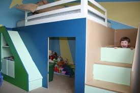 my first build queen size playhouse loft bed