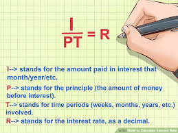 Sample Statement Of Interest Enchanting How To Calculate Interest Rate 44 Steps With Pictures WikiHow