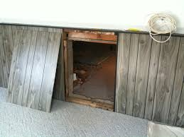 Decorating crawl space door images : Basement Crawl Space Door Installation : Functional Basement Crawl ...