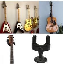 wall mount hooks stand holder guitar