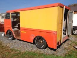 1969 Ford Grumman Olsonette Bread Truck Chopped Streetrod Project