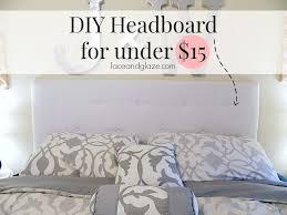easy diy headboard unique diy headboard for under 15 of easy diy headboard unique diy headboard