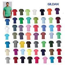 50 Blank Gildan Softstyle T Shirt 64000 Bulk Lot Ok To Mix S