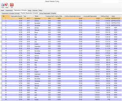 Fixed Asset Depreciation Schedule Modules Realtimme