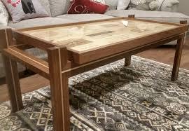 wine crate furniture. Custom Furniture \u2013 Wine Crate Coffee Table