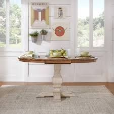 eleanor two tone oval solid wood top extending dining table by inspire q clic on today overstock 13535941