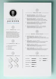 Resume Template Pages All Best Cv Resume Ideas
