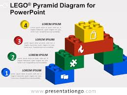 Diagram Of A Pyramid Lego Pyramid Diagram For Powerpoint Pixelhand