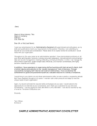 Office Assistant Cover Letter Sample Template Edit Fill Sign