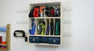 tool storage wall cabinet