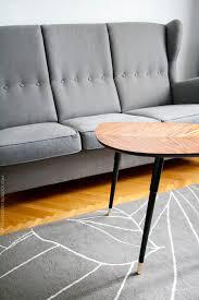 ikea strandmon three seat sofa lovbacken side table and gislev grey rug