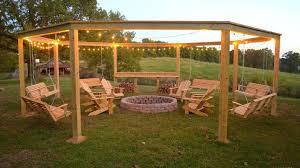 backyard string lighting. Little White House Blog/Remodelaholic Backyard String Lighting O