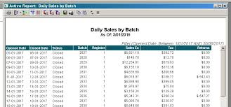 How To Pull Daily Sales Summary Microsoft Dynamics Rms