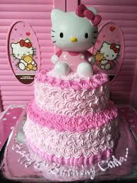 Kue Ultah Hk 2 Tingkat Cake Ultah Cake Desserts Dan Food