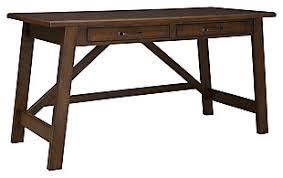 Office home desk Modern Baldridge Home Office Desk Desks Ashley Furniture Homestore Desks Ashley Furniture Homestore
