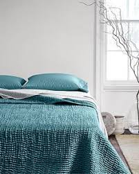 Luminous sand-washed silk is quilted into hand-stitched waves of ... & Eileen Fisher Waves Washed Silk Quilt and Sham - Garnet Hill Adamdwight.com