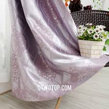 Purple Living Room Curtains Purple Living Room Curtains With Jacquard Pattern